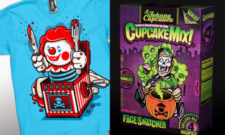 "Johnny Cupcakes ""Something in the Cupcake Mix"" Halloween 2009 T-Shirt Collection"