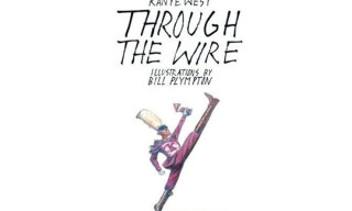 "Kanye West ""Through The Wire"" Book Illustrated by Bill Plympton"