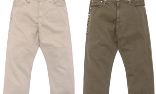 Levi's Fenom Fall 2009 505 Rustic Chino Cropped