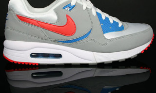 Nike Air Max Light Grey/Hot Red/Blue