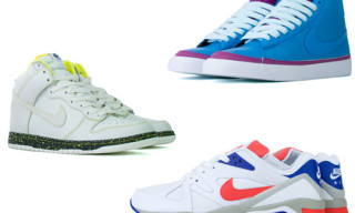 Nike Sportswear October 2009 Footwear Releases | Air Structure Triax, Blazer, Dunks