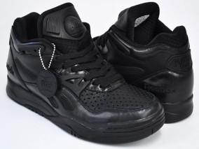 reebok pump all black