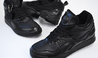 Reebok Perfectly Black Pack | Insta Pump Fury, Pump Court Victory 2, Pump Omni Lite