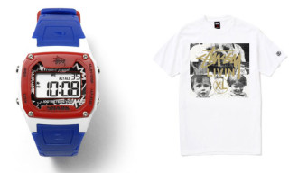 Stussy x Samurai Magazine 10th Anniversary | T-Shirt and Freestyle Shark Classic Watch