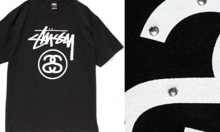 Stussy x Smart Magazine Rhinestone Stock Link T-Shirt
