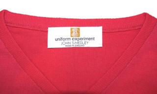 uniform experiment x John Smedley Knitwear Collection