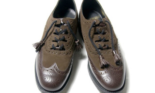 Unused x Sanders Wingtip Shoes