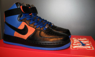 "Clark Kent x Nike Air Force 1 Hi Supreme ""NYC"""