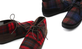 F-Troupe Plaid Chukka