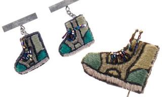 Lanvin Hi-Top Sneaker Tie Pins & Cufflinks