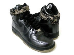 Nike Air Force 1 High Black Gum