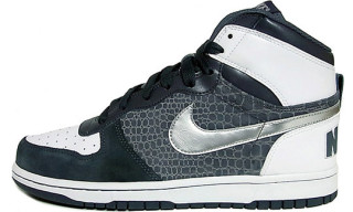 Nike Big Nike Hi Dark Grey/Metallic Silver