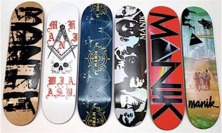 Noel Sinclair Boyt for Manik T-Shirts & Skate Decks