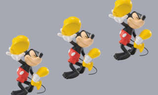 Roen x Medicom Toy VCD Mickey Mouse Shoeless