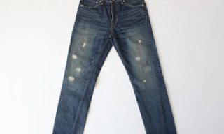 Visvim Fluxus Damaged-2.5 Denim F.I.L. Exclusive