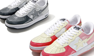 Bape Holiday 2009 Patent Bapesta