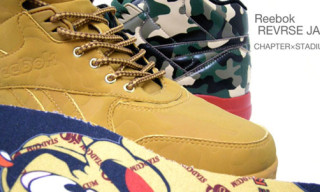 Chapter x Stadium x Reebok Reverse Jam | Camouflage Jam Collection