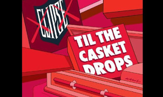 "Clipse ""Till The Casket Drops"" Album Artwork by Kaws"