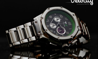 Fatlace 10th Anniversary Velocity Watch by Meister