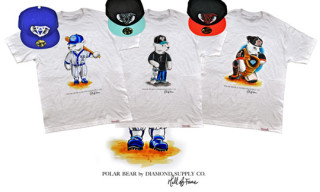 Hall of Fame x Diamond Supply Co. Polar Bear Pack | New Era Caps and T-Shirts