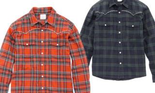 Levi's Fenom Metallic Disco Flannel Western Shirts