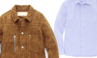 Levi's Fenom Fall/Winter 2009 Collection | Suede Jacket and Regular Shirts