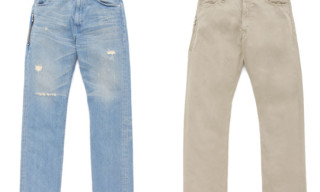 Levi's Fenom Fall/Holiday 2009 Collection | Turquoise Package Light and Hard Wash Chino