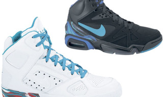 Nike Holiday 2009 Aqua Pack | Air Hoop Structure and Air Auto Flight