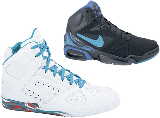 c5c248e0ce1 delicate Nike Holiday 2009 Aqua Pack Air Hoop Structure and Air Auto Flight  Highsnobiety