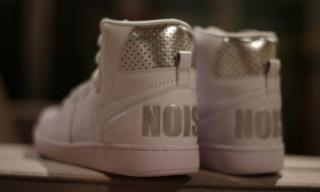 "Nike Sportswear x fragment design Terminator Hi ""Noise""   White Colorway"