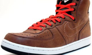 Nike Holiday 2009 Terminator High Premium Brown/Black/Red
