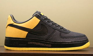 Undefeated Livestrong Nike Air Force 1 Supreme
