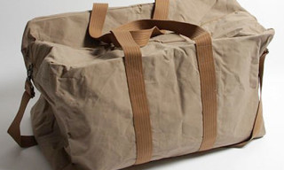 Nom de Guerre Fall/Winter 2009 Coated Duffel Bag
