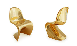 Panton Mini Chair | Limited Edition Gold Metallic