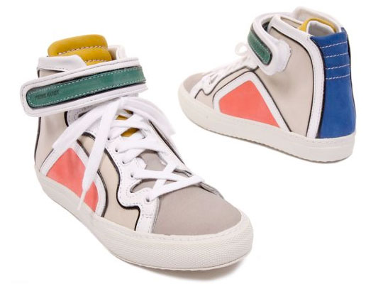 """Pierre Hardy Spring/Summer 2010 """"Colorama"""" Sneakers ..."""