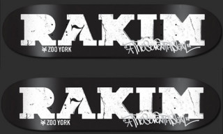 "Rakim x Zoo York ""The Seventh Seal"" Skate Deck"