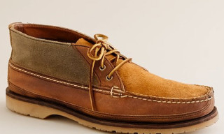 Red Wing for J.Crew Rugged Leather Chukka Boots
