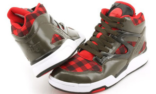 Reebok Holiday 2009 Pump Omni Lite Plaid