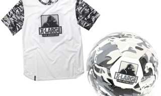 SFIDA x XLarge Soccer Ball and Soccer Jersey