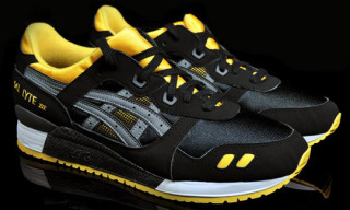 Asics Gel Lyte III Black Yellow