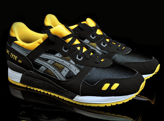 asics gel lyte iii yellow black