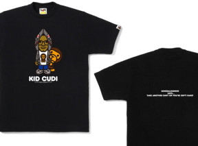 0806baba4 2 more. BAPE STORE® Los Angeles will be releasing a limited Kid Cudi x Milo  t-shirt ...