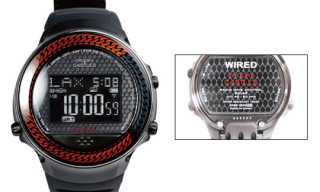 Crooks & Castles x WIRED h Watch