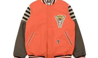 Ice Cream Tiger Varsity Jacket