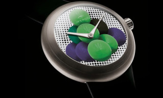 "Jeff Koons x Ikepod ""Cannonballs"" Watch"