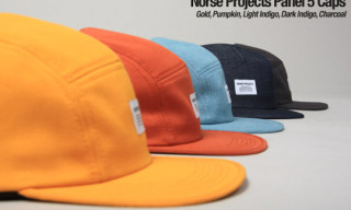 Norse Projects 5-Panel Caps