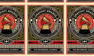 Shepard Fairey x Grammy Awards