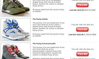 Sneakersnstuff x Reebok Pump 20 Charity Auction