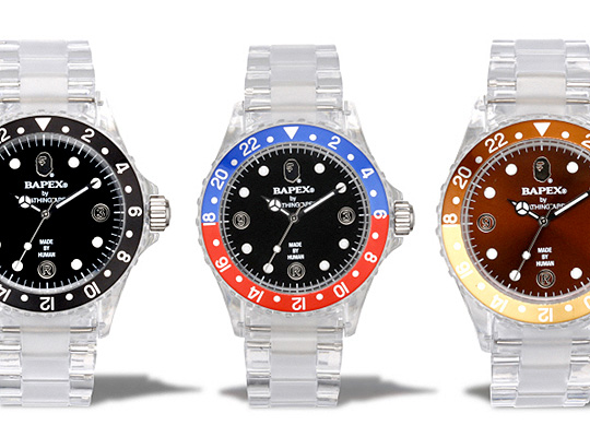 bape holiday 2009 bapex clear new colorways highsnobiety