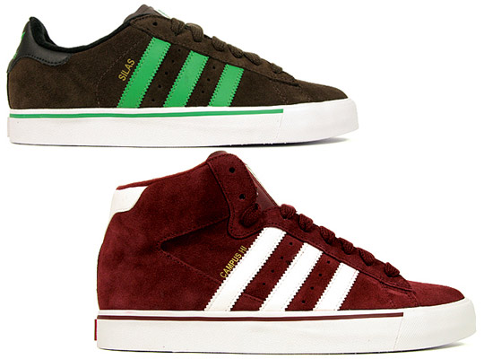 adidas campus vulc hi red
